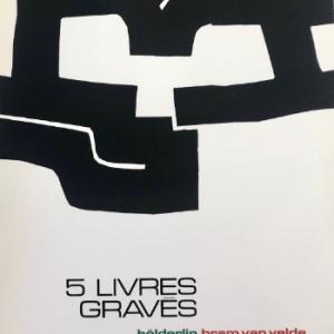 Eduardo Chillida Poster Lithograph, Maeght