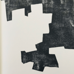 Eduardo Chillida Woodcut DM07174 DLM printed 1968