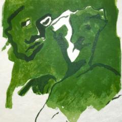 "Francisco Bores ""13"" Original Lithograph 1962 Mourlot"