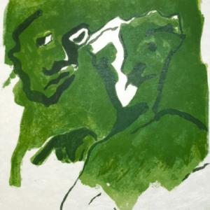 Francisco Bores Original Lithograph 13, 1962
