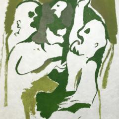 "Francisco Bores ""14"" Original Lithograph 1962 Mourlot"