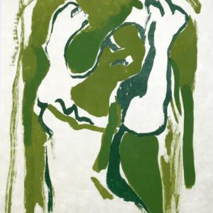 "Francisco Bores ""16"" Original Lithograph 1962 Mourlot"