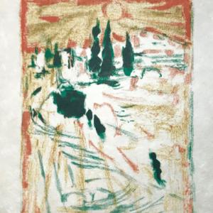 Alexandre Garbell Lithograph 1, Mourlot 1962