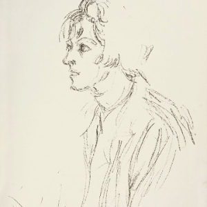 Giacometti original Lithograph DM03148 1964