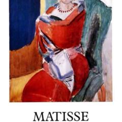 Henri Matisse Poster Exposition 1986