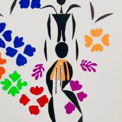 "Henri Matisse Poster ""Negress"" 1983"