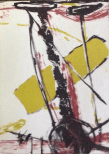 Isabelle Champion-Métadier Original Lithograph N7-1 Noise