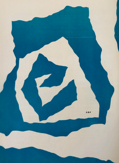 Jean Arp, original Lithograph 1950 'DM0233' DLM