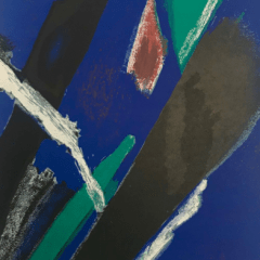"Jean Bazaine, original Lithograph 1953 ""DM0255"""