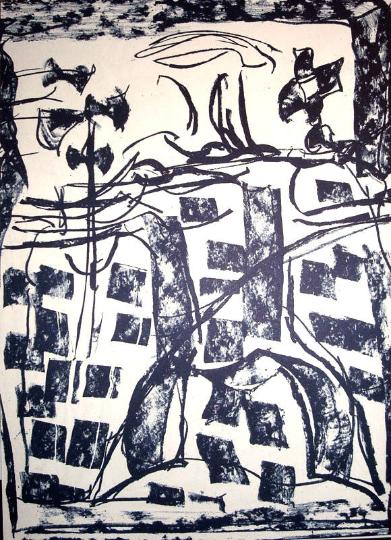 Jean-Paul Riopelle DM21232 Original Lithograph DLM 1979