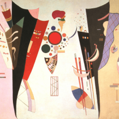 "Kandinsky ""Reciprocal accord"" L.E Numbered Giclee"