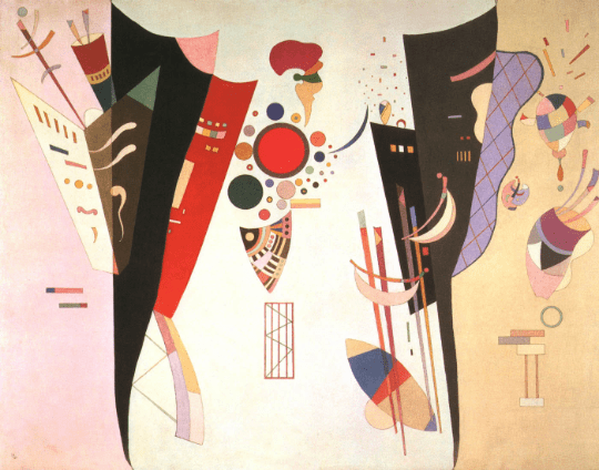 Wassily Kandinsky, Reciprocal accord, Giclee Limited Edition