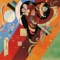 "Kandinsky""composition 9"" L.E Numbered Giclee"