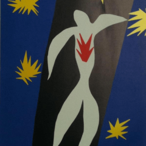 Henri Matisse Heliogravure, The fall of Icarus 1984