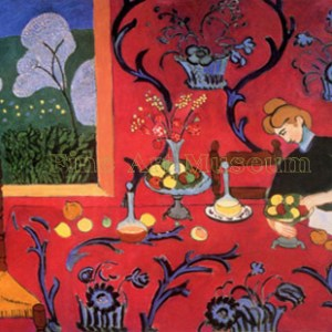 Henri Matisse Harmony In Red, L.E Numbered Giclee