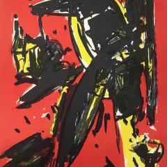 Max Kaminski Original Lithograph N4-1 Noise 1988