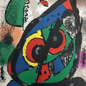 Joan Miro, original Lithograph vol 4-1, Mourlot 1981