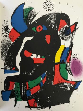 Joan Miro, original Lithograph vol 4-2, Mourlot 1981