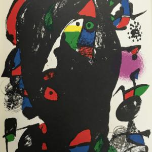 Joan Miro, original Lithograph vol 4-4, Mourlot 1981