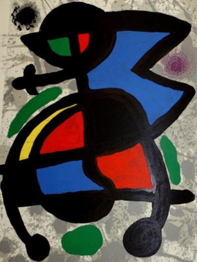 """Miro, Original Lithograph DM05186"""" printed 1970"""