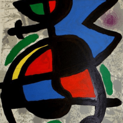 "Miro, Original Lithograph DM05186"" printed 1970"