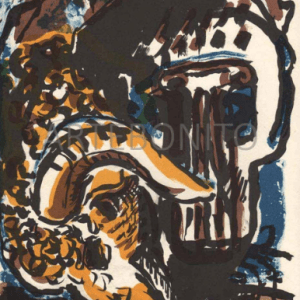 Peter Chevalier, N6-2 Original Lithograph, Noise 1988