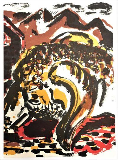Peter Chevalier Original Lithograph N6-1b Noise