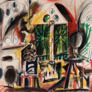 Picasso Sketchbook Lithograph No 1, dated 19/11/1955