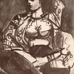 Picasso Sketchbook Lithograph No 1, dated 21/11/1955