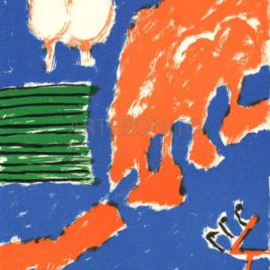 Pierre Nivollet, Original Lithograph N10-2, Noise 1988