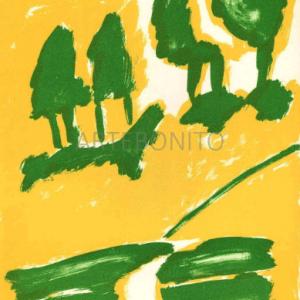 Pierre Nivollet, Original Lithograph N10-3, Noise 1988