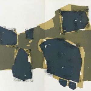 Ubac, Original Lithograph DM0274d, DLM 1955