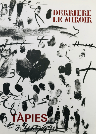 Book Derriere le Miroir 175, Contains 8 Lithographs by Tapies 1968