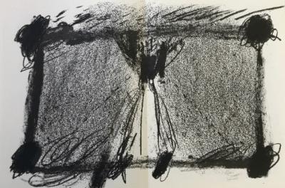 Tapies Antoni Original lithograph DM08175d Maeght 1968