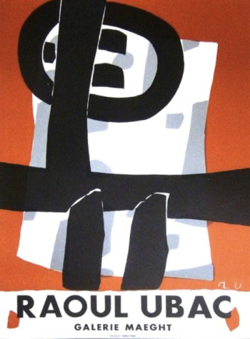 Raoul Ubac, Poster Lithograph, Exposition 1950