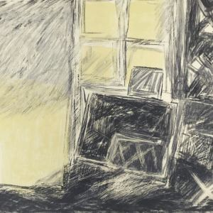 Walter Alberti, Original Lithograph N4-1d, Noise 1988