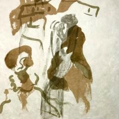 "Francisco Bores ""1"" Original Lithograph 1962 Mourlot"