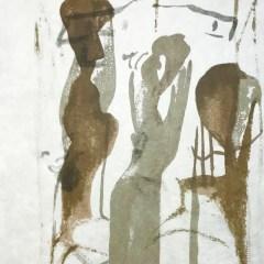 "Francisco Bores ""2"" Original Lithograph 1962 Mourlot"