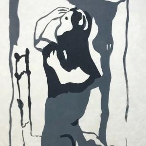 "Francisco Bores ""5"" Original Lithograph 1962 Mourlot"