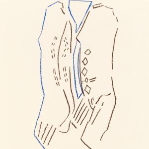 Pierre Buraglio, Lithograph N10-6, IFE 1988