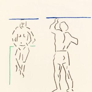Pierre Buraglio Lithograph N10-8, Cezanne 1988