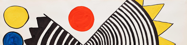 Calder lithograph