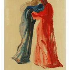Salvador Dali, Purgatory 29, Woodcut, Divine Comedy