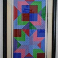 "Victor Vasarely Serigraph ""Door"" Pencil Signed & numbered"