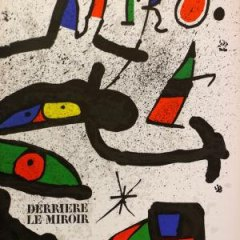 Book DLM 231 Published 1978 Miro 2 Original Lithographs