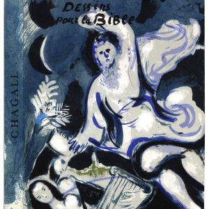 Book, Drawings for the Bible 1960, Revue VerBook Chagall, Drawings for the Bible, Verve 37-38