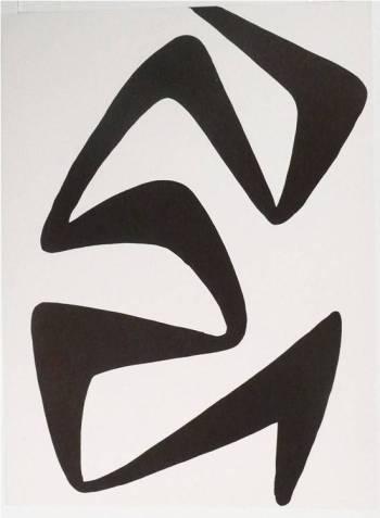 Calder Original Lithograph, DM55173, Derriere le Miroir 1968