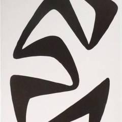 Alexander Calder original lithograph,  DM55173, Derriere le Miroir 1968, ,Abstraction,  Contemporary