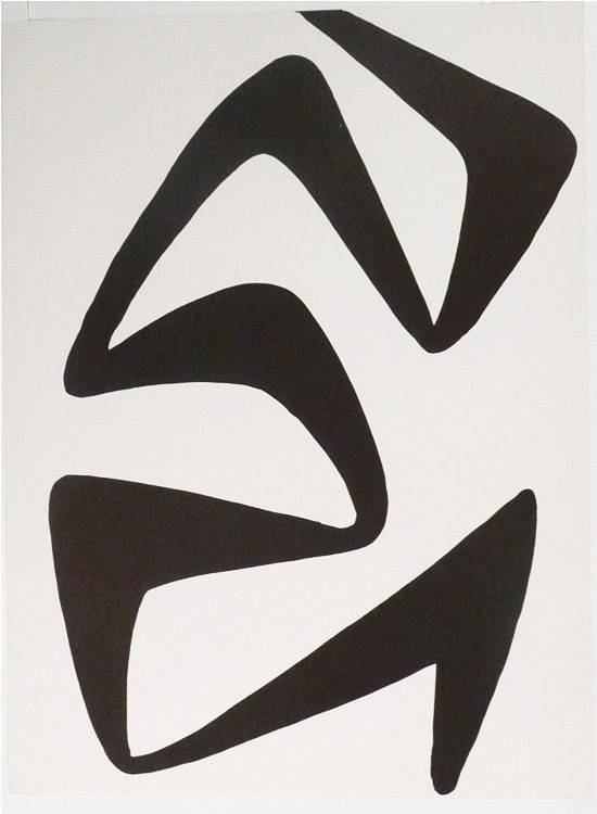Alexander Calder Lithograph, DM55173, Derriere le Miroir 1968