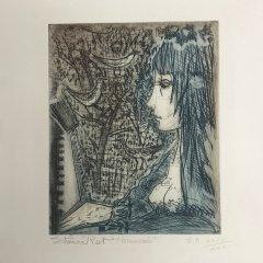 Etienne Ret,  Original Eaux forte, Pencil signed & numbered